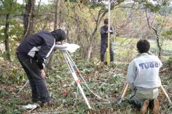 歴史考古|地形測量