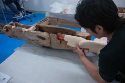 立体作品修復|復元補作処置